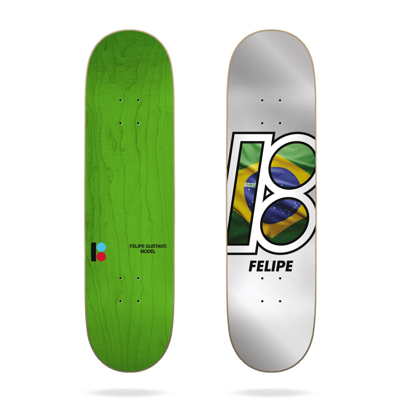"Plan B Felipe Global 7.75"" Deck"