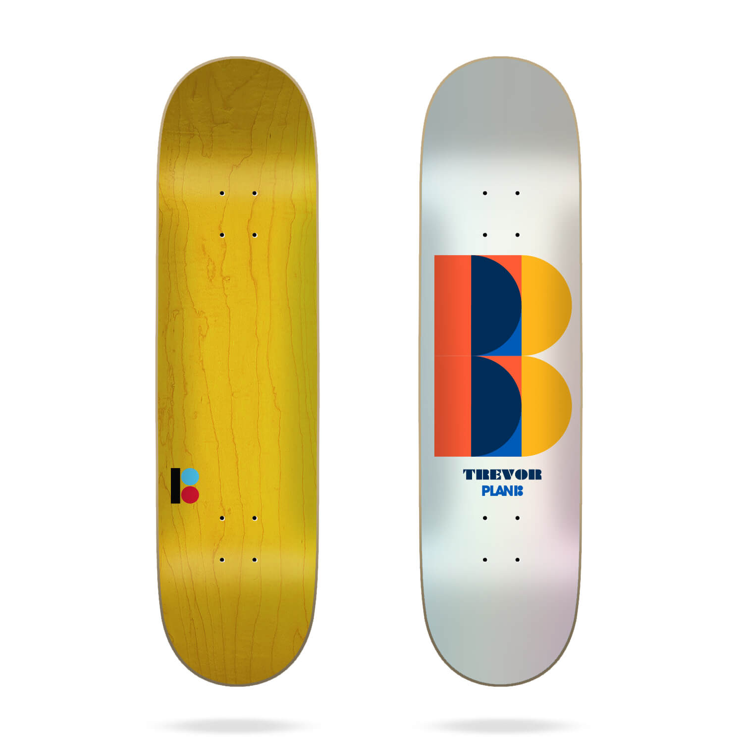 "Plan B Trevor Deco 8.0"" Deck"