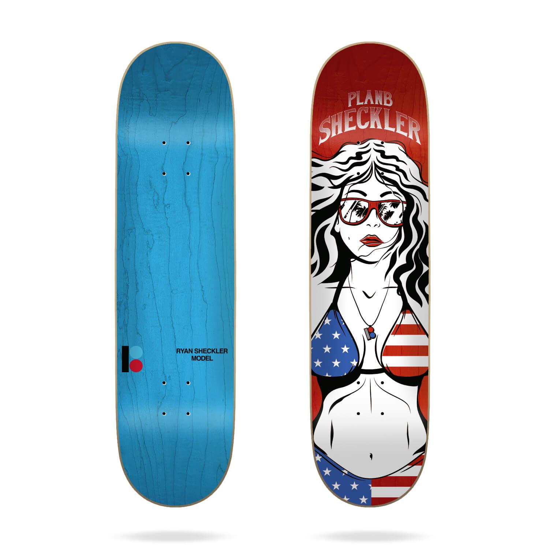 "Plan B Sheckler Americana 8.25"" Deck"