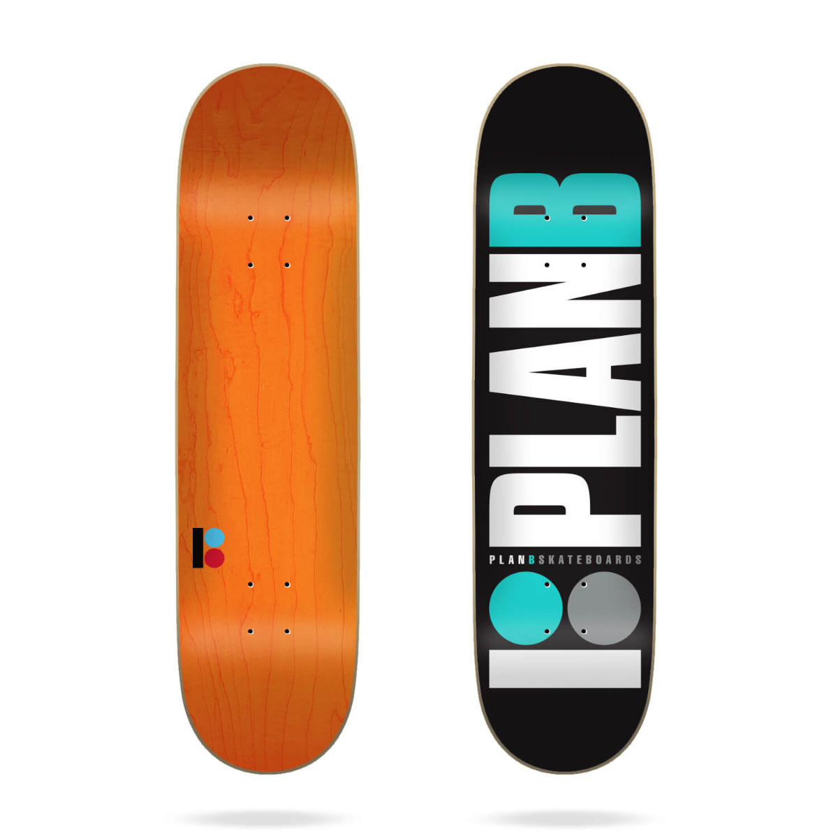 "Plan B Team Og Teal 7.75"" Deck"