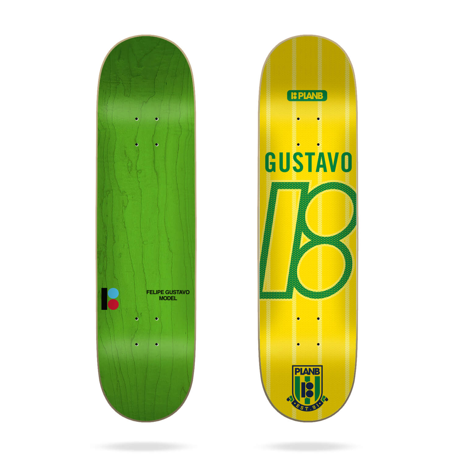 Plan B College Felipe 7.75 Deck