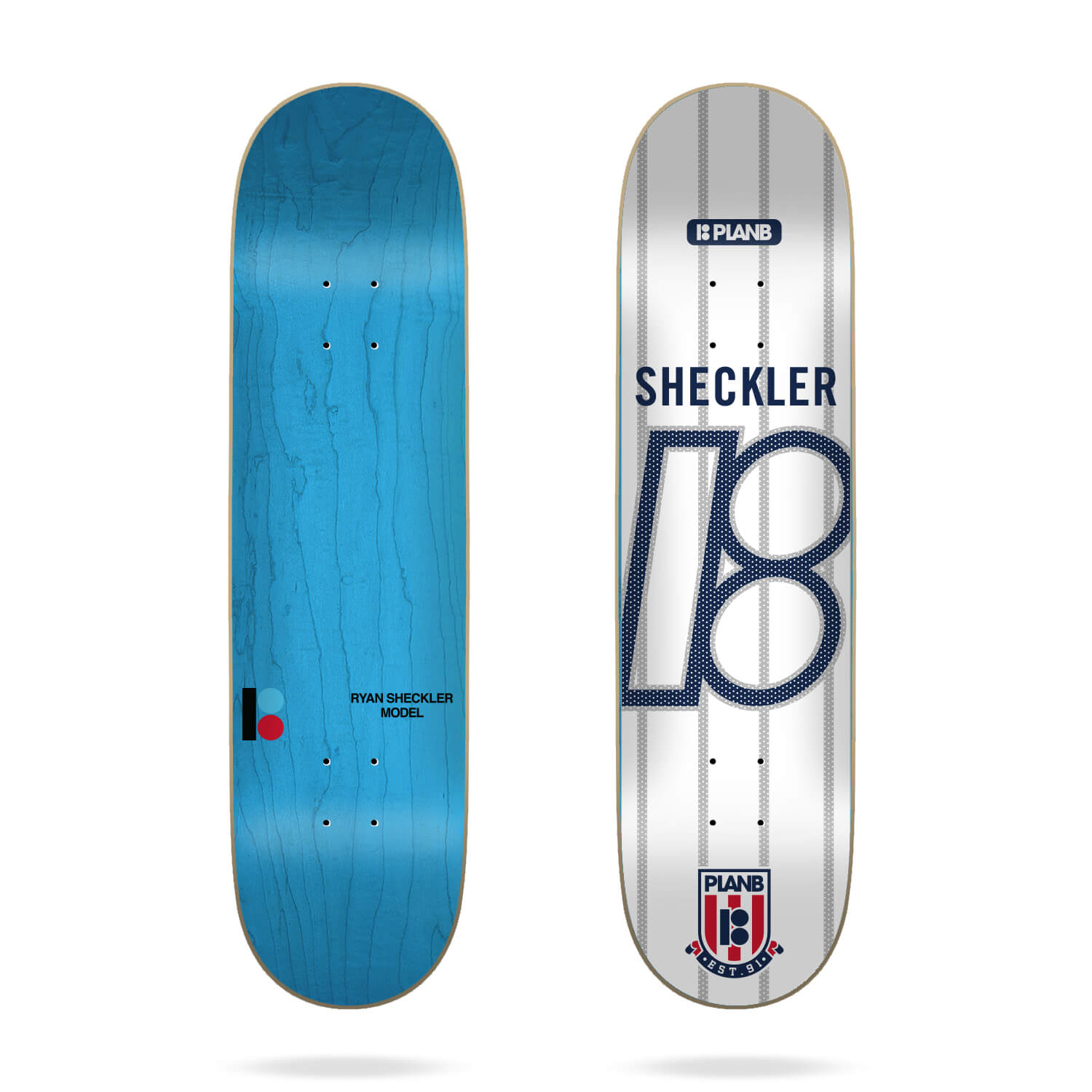 "Plan B College Sheckler 8.125"" Deck"