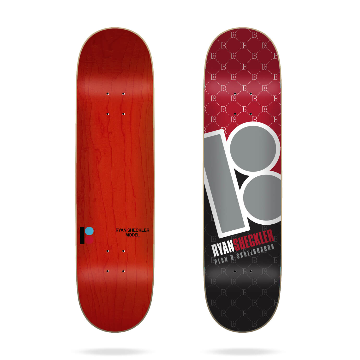 "Plan B Corner Sheckler 8.125"" Deck"