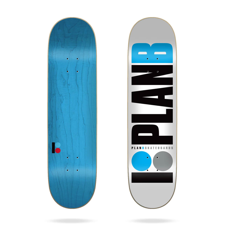 "Plan B Team Blue 8.25"" Deck"