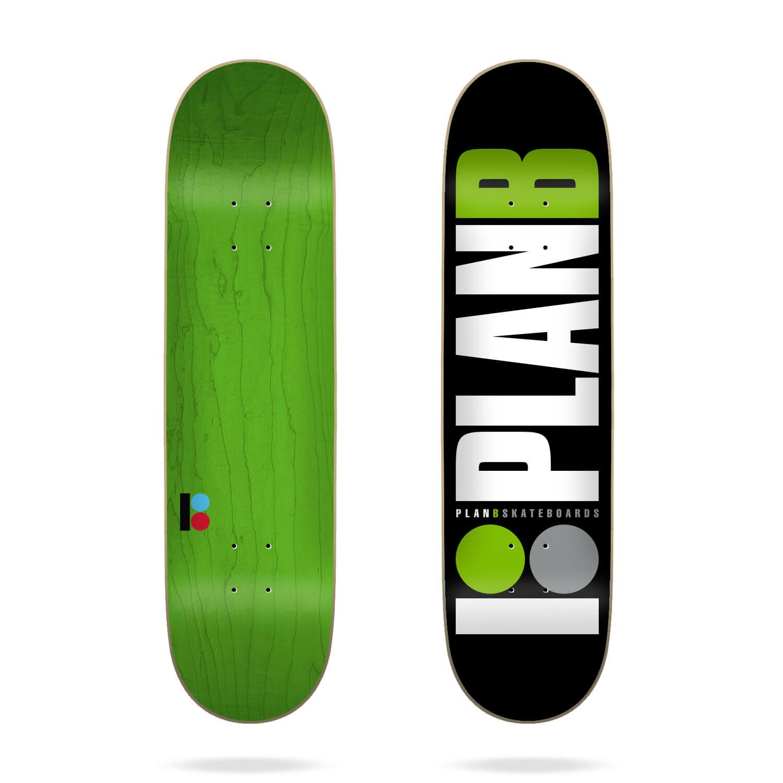 """Plan B Team Green 8.0"""" Deck"""