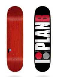 Plan B Team Red 7.75 Deck