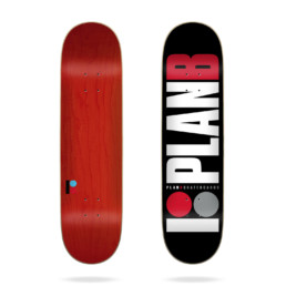 Plan B Team Red 7.75 Deck