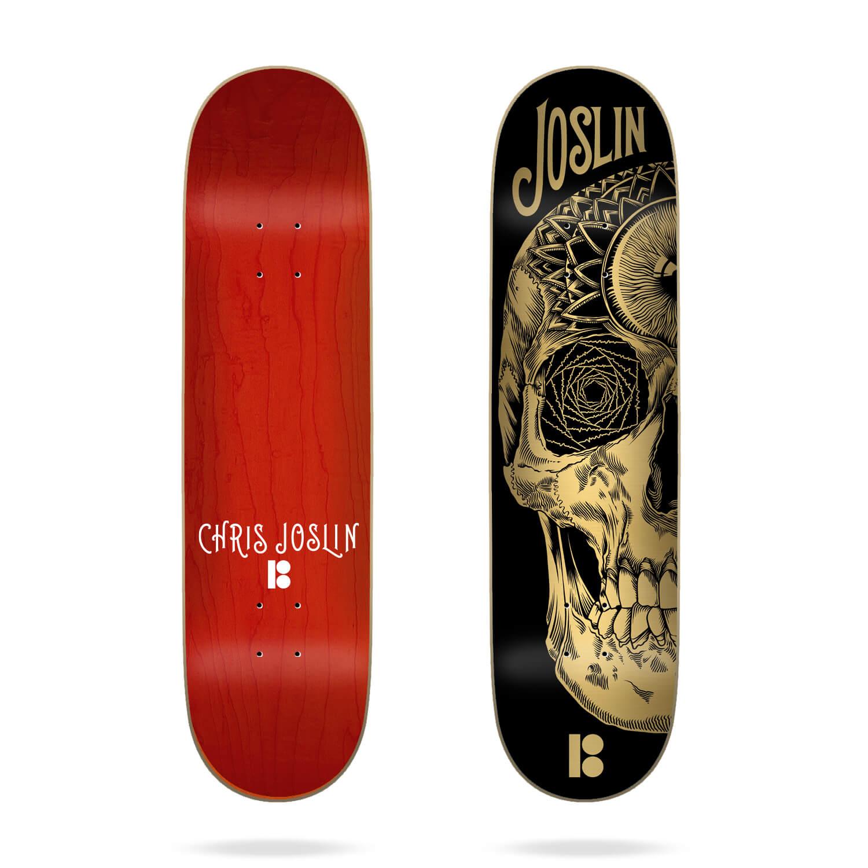 "Plan B Palehorse Skull Joslin 8.0"" Deck"